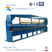 Hydraulisches Stahlblech Xinnuo 6m, das Maschine bildet