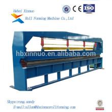 Hoja de acero hidráulica de Xinnuo los 6m que curva la fabricación de la máquina