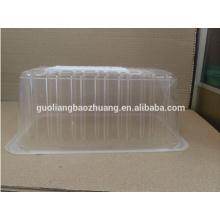 FDA-Attestation Haustier-transparenter Nahrungsmittelgrad-Plastikfrucht-Spannkorb