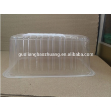 FDA Attestation Pet Transparent Food Grade Plastic Fruit Punnet