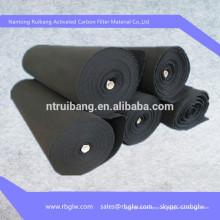 Estera del purificador del aire del carbón activado del paño de la fibra de ACF