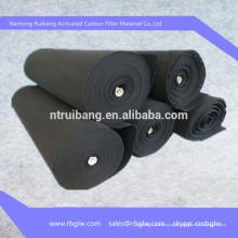 conception de tamis de filtre à charbon actif
