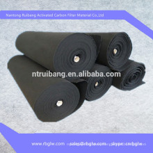 environmental cleaning activated carbon air filter fiber