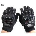 Profissional personalizado luvas protetoras de motociclista pro motocicleta luvas de couro de alta qualidade para venda