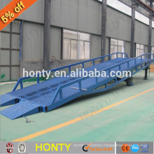 6t 8t 10t movable dock leveler / mobile yard ramps