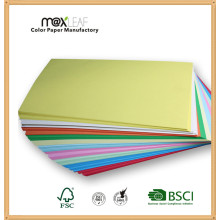 80GSM 100% Virgin Pulp Assorted Color Offset Paper Copy Paper Direct Factory