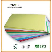 80GSM A4 Без цвета Цветная офсетная бумага Бумага для копирования