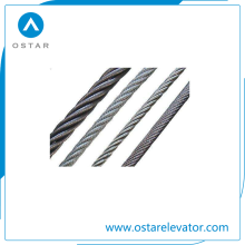 Elevator Parts with High Quality 13mm Steel Wire Rope (OS26)