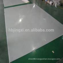 Heat resistant silicone rubber sheet