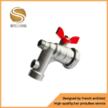 Butterfly Handle Brass Bibcock Brass Ball Valve