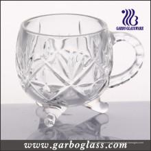 Caneca de vidro & copo de chá (GB091804JC)
