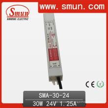 30 Вт 12-24 В постоянного тока 1.25 драйвер светодиодов Водонепроницаемый Импульсный источник питания