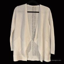 15PKLS06 2016-2017 dernière dame cardigan 100% lin chandail