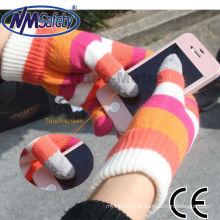 Luva de tela sensível ao toque de iPhone inteligente NMSAFETY iPhone no inverno