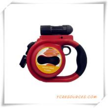 Haustier Leine mit Taschenlampe und Tissue Box für Promotion (TY05007)