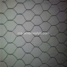 PVC yang diselaraskan Hexagonal Wire Mesh For Farm