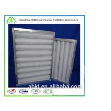 Filtro de aire de carbón activado con marco de aleación de aluminio