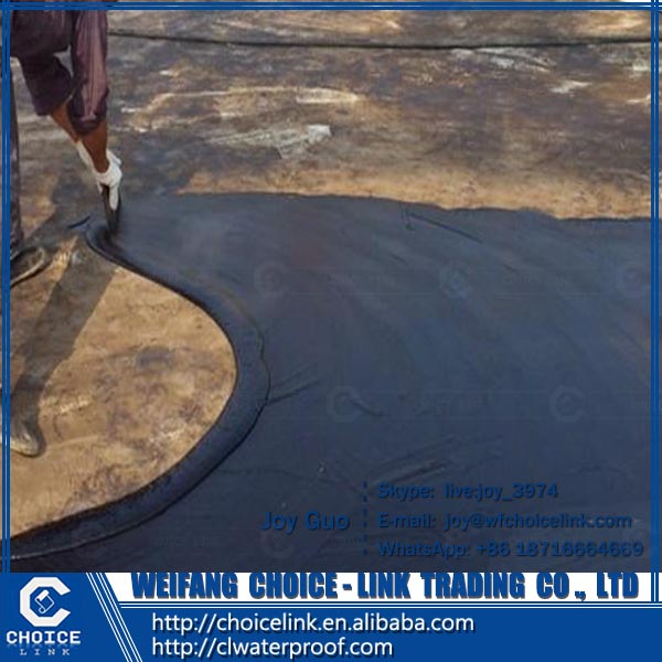 water-based double component PU waterproofing coating