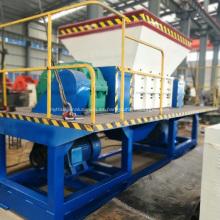 Trituradora de llantas para planta de reciclaje