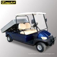 Chariot de golf 2 places avec direction à droite