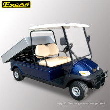Right Hand Steering 2 Seater Golf Cart with Trailer