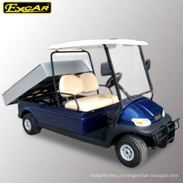 Carro de golfe barato do veículo de serviço público de 2 Seater com carga