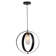 Modern home kitchen decorative cylinder chandelier lamp