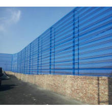 Staubunterdrückung und Windproofing Wand Perforiertes Metallgewebe