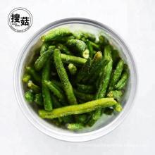Vacuum Pack Packaging Vacuum Fried Green Pea Chips Crisp