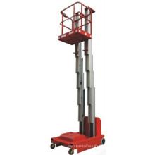 A plataforma de trabalho de alumínio propelida da venda scissor o elevador scissor a plataforma de funcionamento