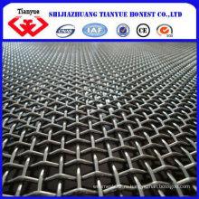 Китай Различные Weave Тип Квадратное Отверстие Гофрированная Сетка Провода / Горная Сетка / Забор Mesh (TYF-018)