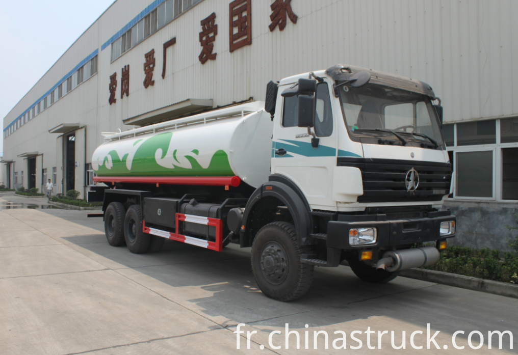 Beiben off-road fuel tank truck