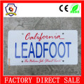 fashion Metal License Plate Frame