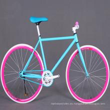 Bicicleta de carretera de piñón fijo Fixie 700c