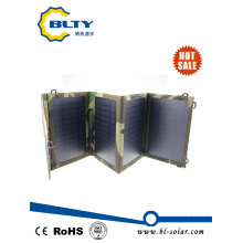 14W Dual USB Port Solar Charger for Mobile Phone
