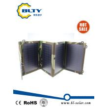 14W двойной порт USB Солнечное зарядное устройство для мобильного телефона