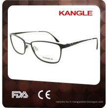 2017 New Italy design Lady métal optique lunettes, cadre optique en métal