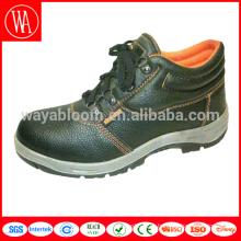 изготовленные на заказ кожаные ботинки безопасности с высоким воротом