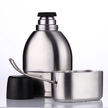 Stainless Steel Double Wall Vacuum Military Canteen