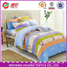 Monkey King tela de cama de algodón de dibujos animados niños