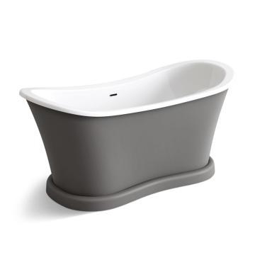 Gris estilo nuevo claro mejor acrílico bañera independiente