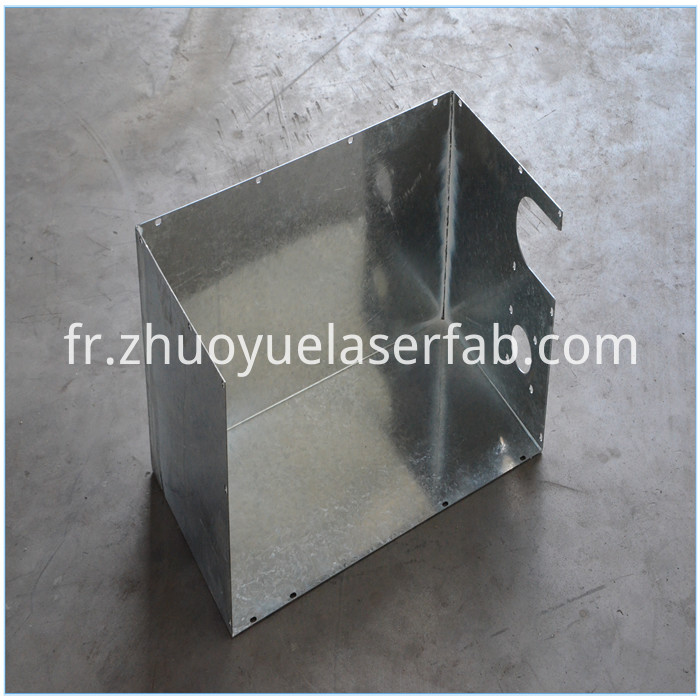 OEM galvanized steel part