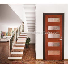 El diseño de puerta única de madera francés más popular