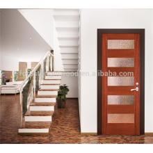 Mais popular design francês de porta única de madeira