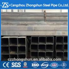 Tube en acier galvanisé 80x80 tube carré par kg