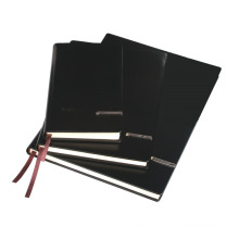 Spiral Binding Notebook with Black PU Hardcover