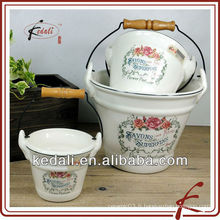 Pot de pot de mur en céramique