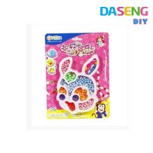 Collar de colores multicolores con pulsera para niños