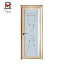 2018 interior position aluminum glass alloy door
