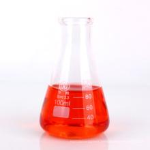 100ml borosilicate glass conical flask in laboratory